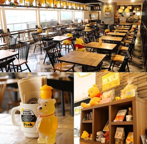 「はちみつカフェ」が期間限定オープン!(小田急百貨店新宿店 STORY_STORY「くまのプーさん」グッズコーナー横)